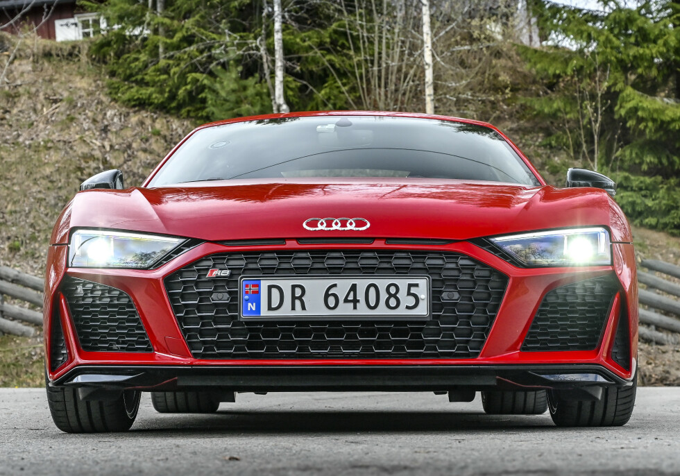 STANCE: Mye mer aggressivt design fra Audi. Foto: Jamieson Pothecary