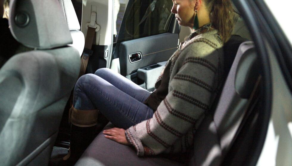 KNAPT: Man skal ikke kjøre på langtur, om man vil ha voksne personer i baksetene. Foto: Øystein B. Fossum
