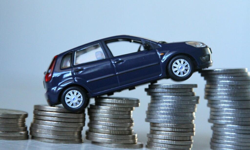 DYRT I NORGE: Det koster 6.945 kroner i måneden å kjøre en bensinbil i Norge. Dette er over 2.000 kroner mer en gjennomsnittet i europeiske land, viser Leaseplans Car Cost Index 2018. Foto: Rune Korsvoll
