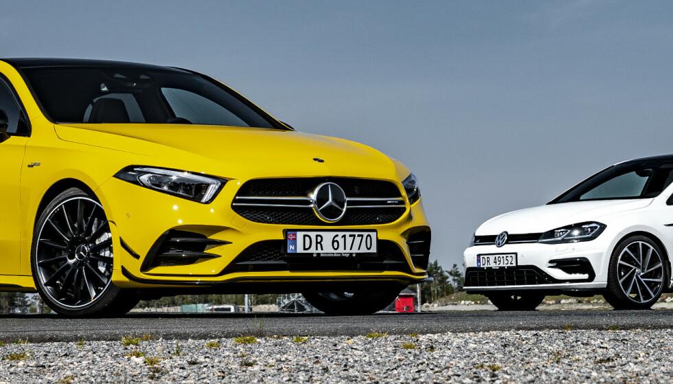 Golf R eller billigste Mercedes AMG?
