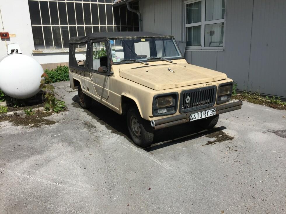 <strong>SAME SHIT, NEW WRAPPING:</strong> Renault Rodeo var et svar på storselgeren Citroën Mehari. Bilen er bygget på Renault 4 varebil. Neste prosjekt hjem? Foto: Rune M. Nesheim