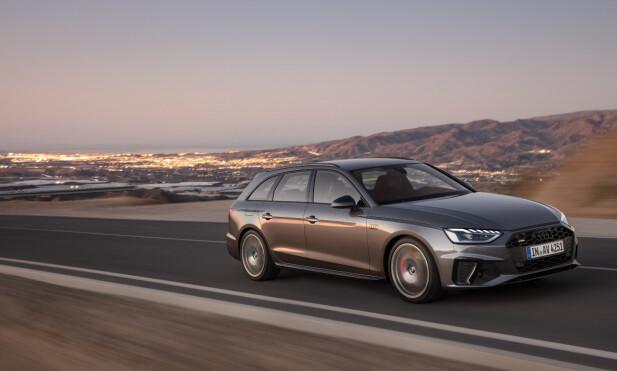 MILDHYBRID: Det er fortsatt lenge til det blir vanlig å kjøpe elbil og stadig flere bilprodusenter setter sin lit til effektivisering av forbrenningsmotorer for å møte stadig strengere utslippskrav, blant annet med såkalte mildhybrid-løsninger. Foto: Audi