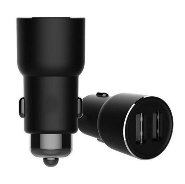 PLUGG: Roidmi 3S kobles til strømuttaket. Den inneholder også to USB-porter som lar deg lade mobilen mens du strømmer lyd til bilradioen. Foto: Xiaomi (produsenten)