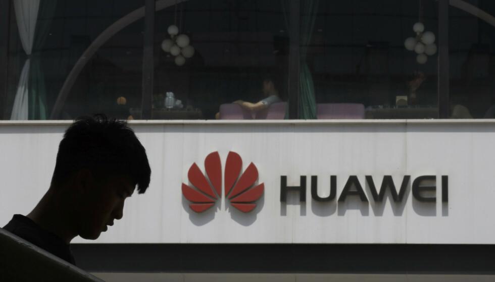 BRÅSTOPP: Google har nå stengt dørene for Huawei. Foto: Ng Han Guan / AP / NTB Scanpix