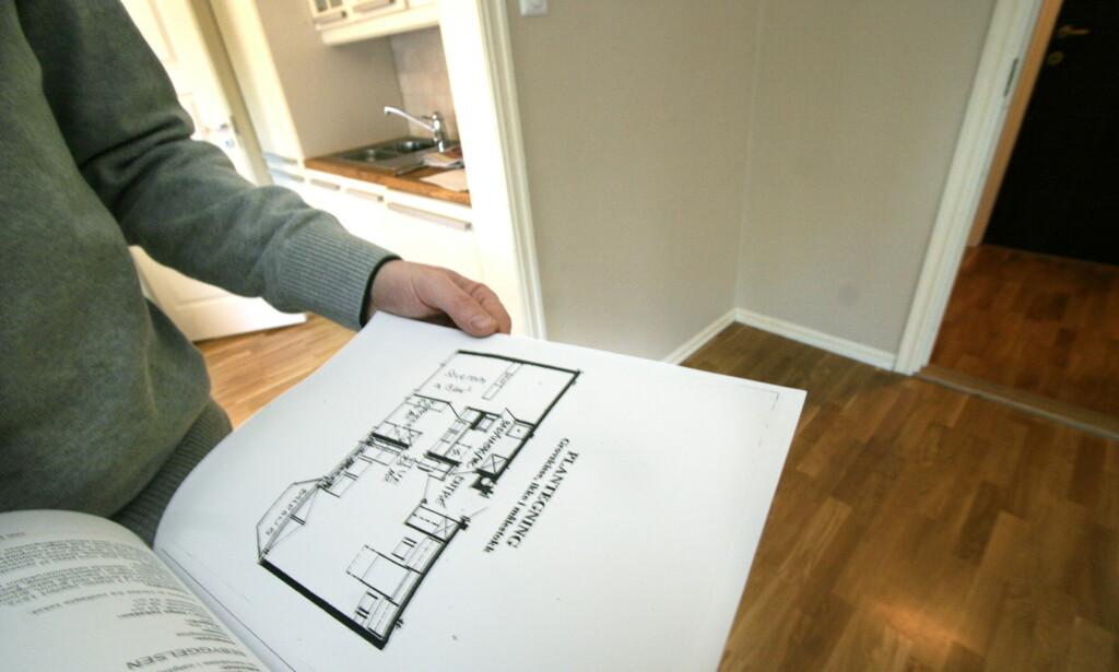 OPPDATERT: Stortinget har vedtatt en modernisering av loven som regulerer markedet for bruktbolig. Dette vil føre til et mer opplyst boligmarked, som vil komme både kjøper og selger til gode, mener Forbrukerrådet. Foto: Jarl Erichsen/NTB Scanpix.