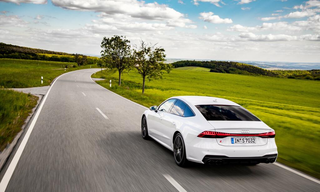 TAR SJANSER: Audi satser på diesel og dårligere motor-prestasjoner på S6 og S7. Foto: Audi