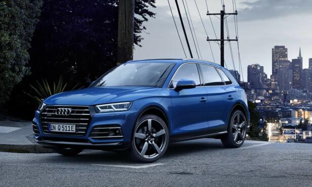 KLIN LIK: Det er ingen klar visuell identifiseringsmulighet av den ladbare Q5-versjonen. Foto: Audi AG