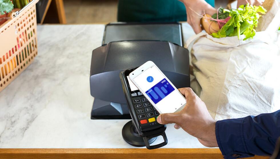 BETAL MED GOOGLE: Flere nordmenn kan nå betale med Google Pay i butikken. Foto: Google