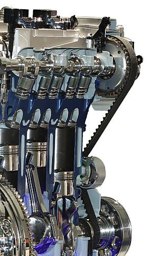 UNNGÅ DENNE BOMBEN: At bilene har skiftet registerreim i motoren er viktig å sjekke på bruktbilen. Foto: VW