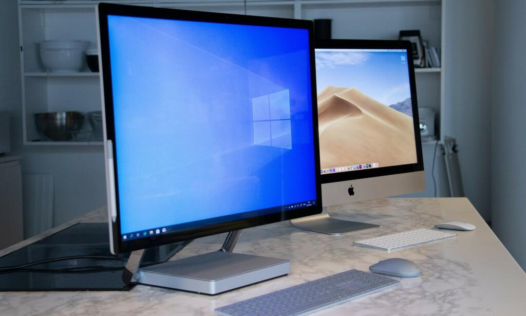 Surface Studio 2 vinner på design. Foto: Martin Kynningsrud Størbu
