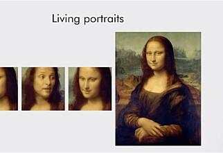 Se - video av Mona Lisa!