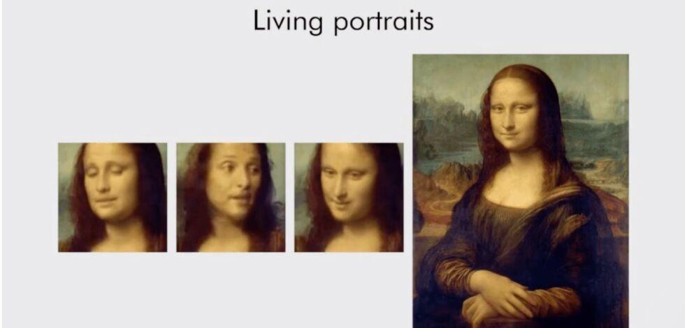 image: Se - video av Mona Lisa!