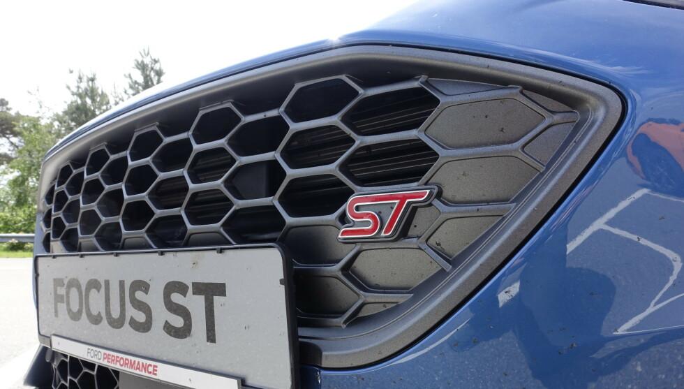 HELT LIK: Frontfangeren er den samme som på ST-Pine men har en ren ST logo. Foto: Rune M. Nesheim