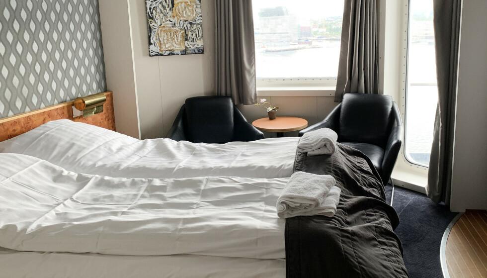 STØRRE, MEN DYRERE: Det trenger ikke å koste mer totalt å velge en dyrere lugar. Foto: Kristin Sørdal