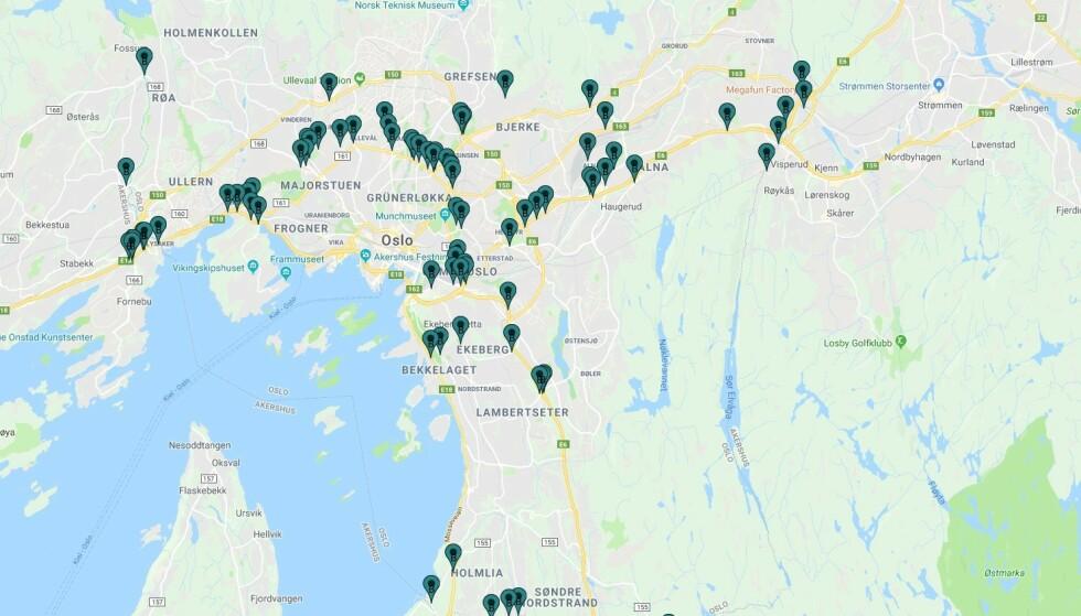 83 BOMMER: Totalt blir det nå 83 bommer i og rundt Oslo. Ill.: Fjellinjen A/S