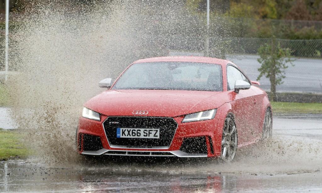 VEKKER FØLELSER: Audi TT har skilt seg ut på veien. Foto: Simon Fox Syndication