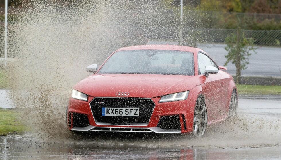 <strong>VEKKER FØLELSER:</strong> Audi TT har skilt seg ut på veien. Foto: Simon Fox Syndication
