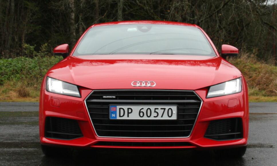 SLUTT: Audi TT blir lagt ned av det tyske premiummerket. Foto: Knut Moberg