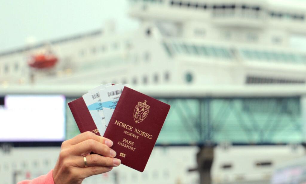 image: Anbefaler pass på alle utenlandsreiser