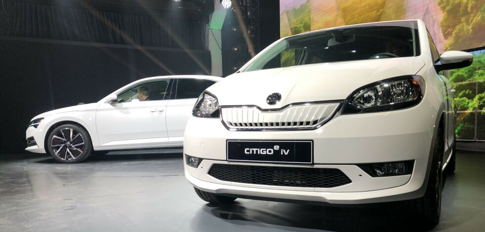 image: Citigo e iV blir Skodas første elbil
