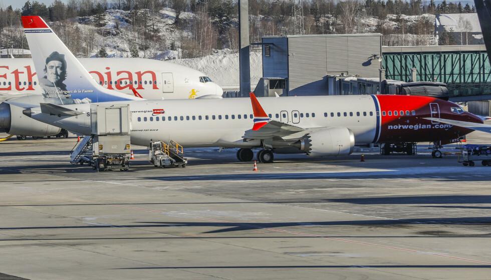 DÅRLIG VÆR? Blir flyet kansellert på grunn av dårlig vær, kan du i de fleste tilfeller ikke regne med å få erstatning i etterkant. Foto: NTB Scanpix