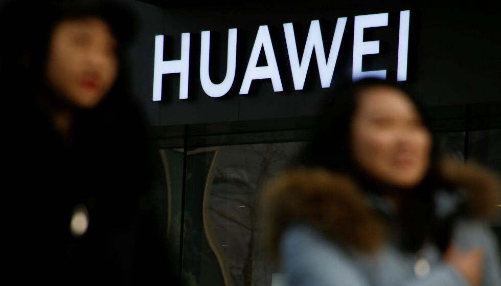 SENDES TILBAKE TIL USA: Amerikanske statsborgere som har jobbet for Huawei i Bejing, skal ha blitt sendt tilbake til hjemlandet. Foto: NTB Scanpix