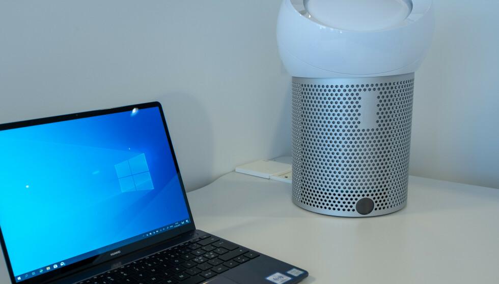 PURE COOL ME: Dyson har lansert en luftrenservifte for skrivebordet og nattbordet. Foto: Martin Kynningsrud Størbu