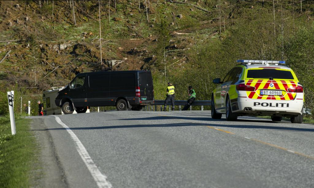 ULYKKESTALL: To motorsyklister omkom i trafikken i mai. Foto: Joakim Halvorsen/NTB scanpix