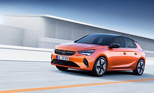 OPELS NYE ELBIL: Trykk på bildene for større versjon av Opel Corsa-e. Foto: Martin Golka