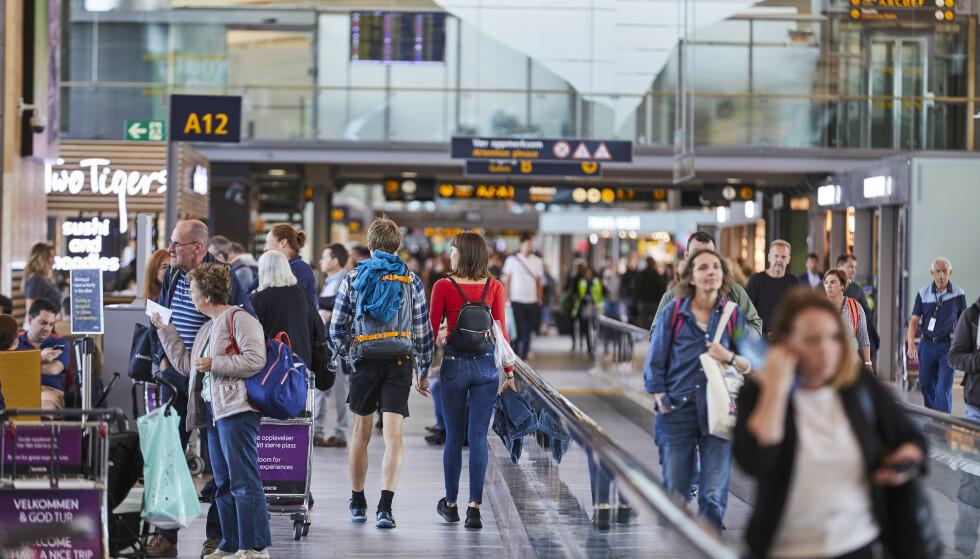 POPULÆR UTREISEDAG: Fredag 7. juni blir årets foreløpig travleste dag på Oslo Lufthavn. Foto: Avinor