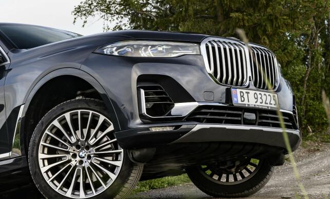NYRETRANPLANTASJON: Det er liten tvil om at det skjer ting med BMW-fronten om dagen. Det ser man på alle BMW-er lansert det siste året. Foto: Jamieson Pothecary