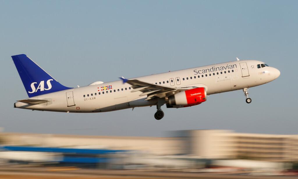 SNART SLUTT: Til høsten skal SAS legge ned tilbudet om taxfree-salg om bord sine flyvninger. Foto: Hanna Paul/Reuters