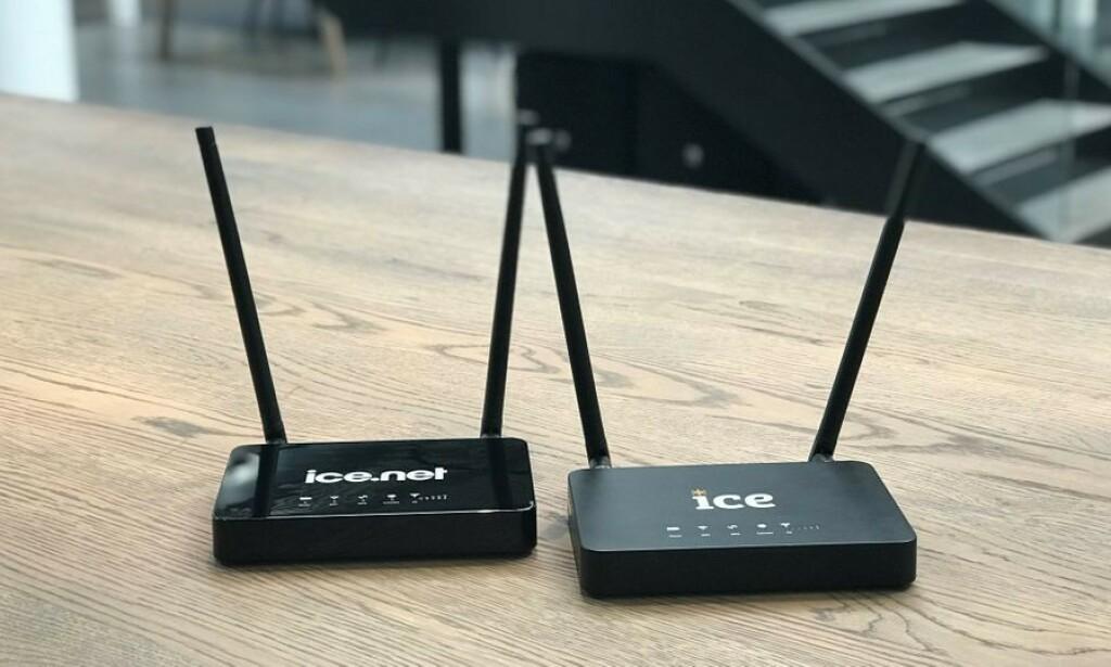 BRANNTILLØP: Ice tilbakekaller batteriene som sitter i bredbåndsruteren A1. Foto: Ice