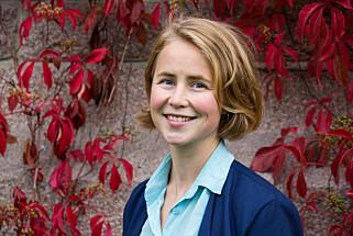 Anja Bakken Riise, leder for Framtiden i våre hender. Foto: Miriam Butt/NTB scanpix