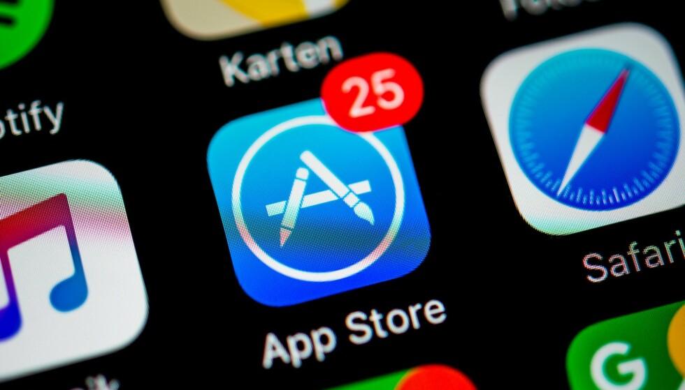 BLIR SAKSØKT: Utviklere går nå til sak mot Apple for monopolvirksomhet. Foto: Valentin Wolf/imagebroker/rex/NTB Scanpix