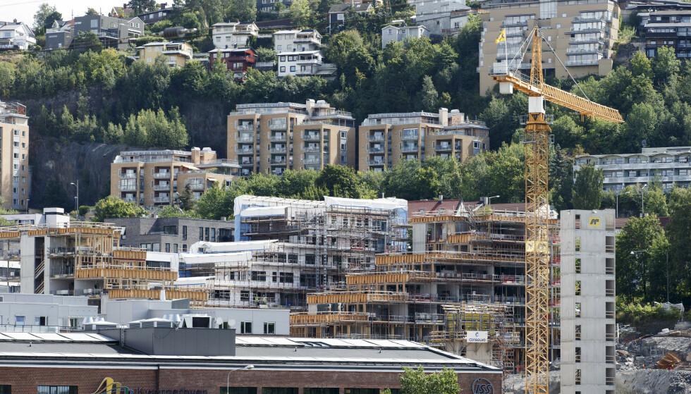 OPPGANG: Boligprisene økte med 0,5 prosent justert for sesongvariasjoner i mai. Prisene nå er 1,8 prosent høyere enn for et år siden. Foto: Gorm Kallestad/NTB scanpix.
