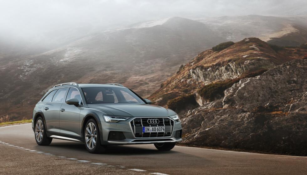 VIL DEN SELGE? Heller ikke den nye generasjonen Audi A6 Allroad Quattro kommer som ladbar hybrid. Da spørs det hvor mange biler de får solgt på det norske markedet. Foto: Audi