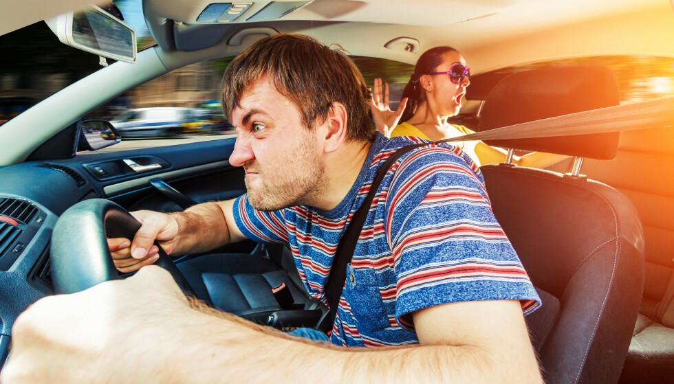 BIL-GAL: Det hender vi koker over bak rattet. Og aldri før har det vært verre enn nå. Foto: NTB/SCANPIX