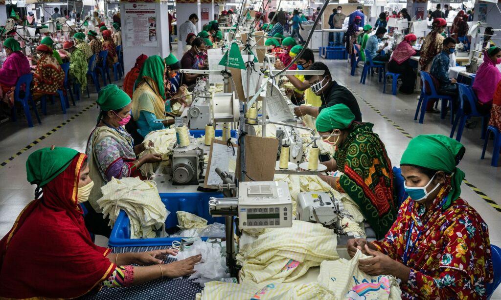 image: Ingen vil si hvor mye de betaler tekstilarbeiderne