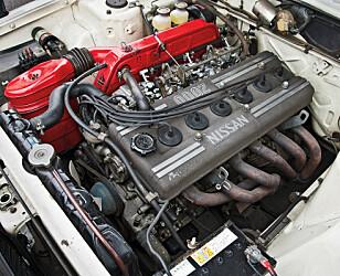 KJAPP: 0-100 på 9,8 sekunder var helt innafor i 1973. Foto: Nissan