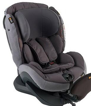 BEST: Dette er den beste stolen i testen. Den kan brukes fra barnet er ni måneder til fem år. Foto: HTS