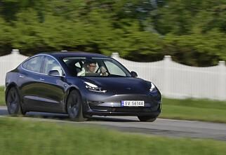 Privatleasingen stuper– skyldes Tesla