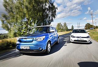 De beste elbilene til 125.000,-