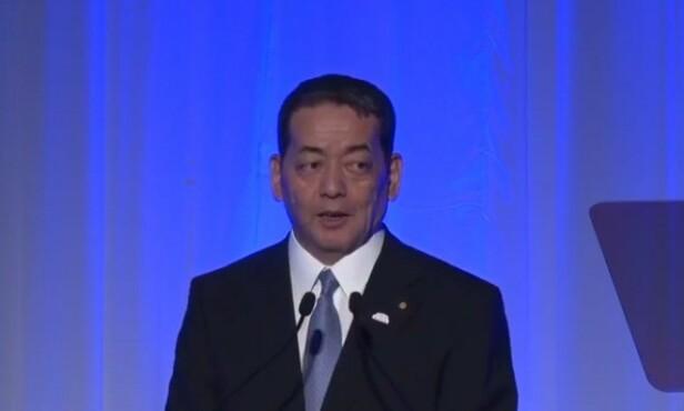 BATTERI-REVOLUSJON: - Vi vil ha klart et nytt, revolusjonerende batteri i tide til sommer-OL i Tokyo neste sommer, sa Toyotas forsknings- og utviklingssjef Shigeki Terashi på en konferanse i Tokyo i forrige uke.