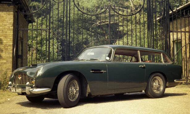 FAMILIEBILEN TIL JAMES BOND: Om James Bond hadde fått barn, ville han trolig valgt en slik. Aston Martin DB5 Shooting brake. Foto: Aston Martin Press