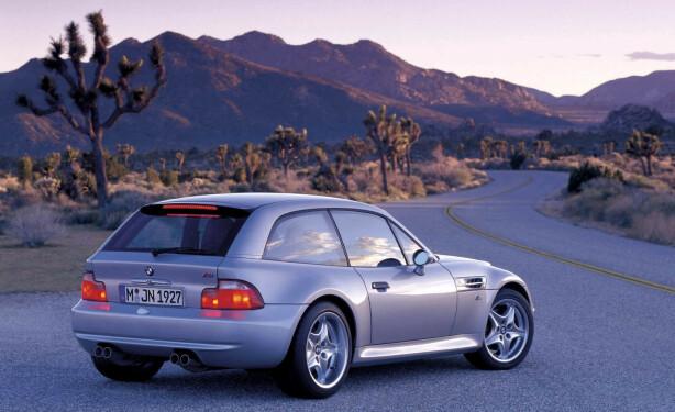 SAMLEROBJEKT: Z3 kabriolet var ikke akkurat lekker. Men som heftig stasjonsvogn med M-Power er den svært ettertraktet. Foto: BMW