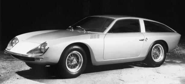 MED ET NØDSKRIK: Lamborghini Flying Star II ble designet av Touring, rett før de gikk konkurs. Foto: Lamborghini press