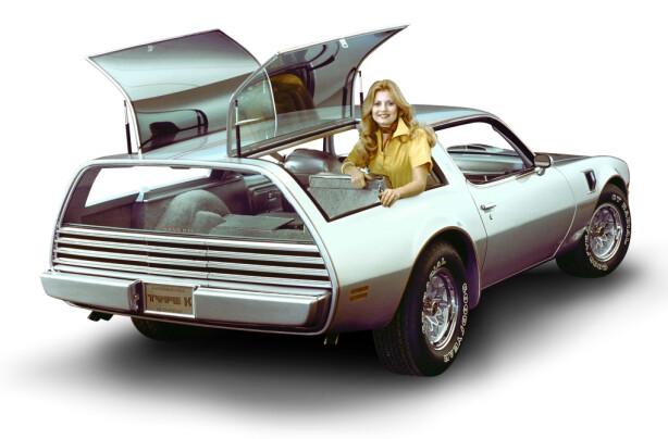 TIDENES STILIGESTE? Kun to eksemplarer av Pontiac Firebird Trans-Am Type K ble lagd. Kun en eksisterer fortsatt i dag. Foto: GM