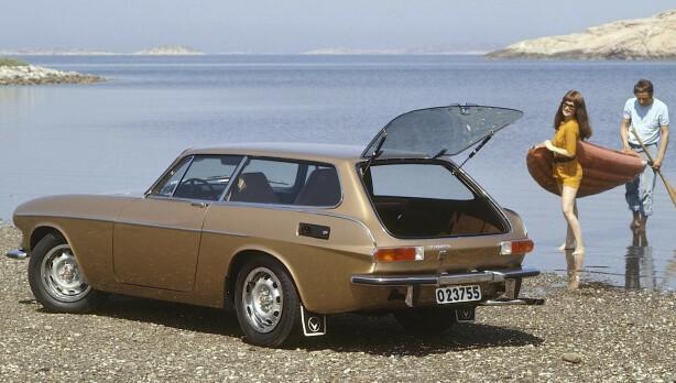 FOLKELIG: 8078 Volvo 1800 ES ble laget. Da er mulighetene gode for å finne en slik i god stand i dag, uten å tømme bankkontoen. Foto: Volvo press