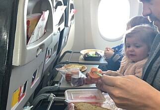 Familie på fem brukte ikke penger på flyplassen til og fra USA